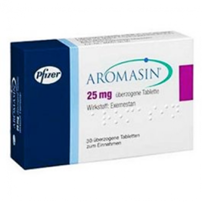 Aromasin 25 mg ( exemestane ) 30 tablets