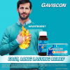 Gaviscon Liquid 10 mL Sachet  ( Sodium Bicarbonate 267 mg + Sodium Alginate 500 mg + Calcium Carbonate 160 mg) 24 sachets