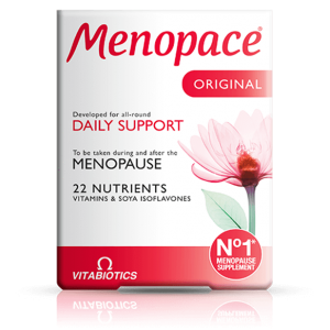 Menopace Original Vitabiotics For All-around Daily Support Vitamins & Soya Isoflavones 30 tablets