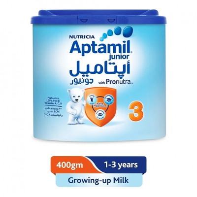 Aptamil Junior with pronutra Growing Up Milk 1 - 3 years 400 g