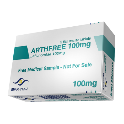 ARTHFREE 100 mg ( Leflunomide ) 30 film-coated tablets