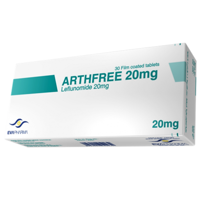 ARTHFREE 20 mg ( Leflunomide ) 30 film-coated tablets