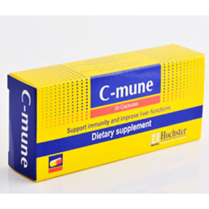 C - mune dietary supplemet Support Immunity & Improve Liver Functions 30 capsules