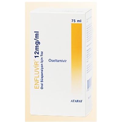 Enfluvir Oral Suspension 12 mg / mL ( Oseltamivir ) 75 mL