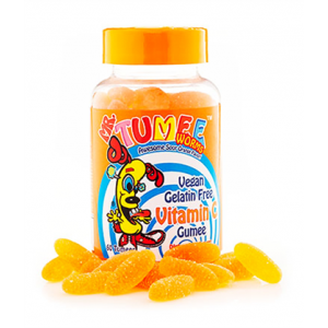 Mr Tumee Vitamin C Gumee  Awesome Sour Orange Flavor  60 Tumees