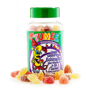 Mr Tumee Echinacea plus Vitamin C & Zinc Gumee  Awesome Fruit Flavors  60 Tumees