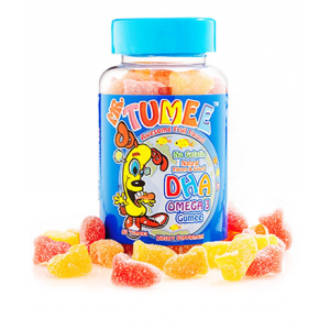 Mr Tumee DHA Omega - 3 Gumee  Awesome Fruit Flavors  60 Tumees