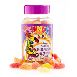 Mr Tumee Multivitamin & Mineral Gumee  Awesome Fruit Flavors  60 Tumees
