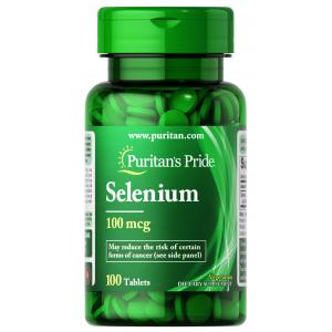 Selenium 100 mcg Puritan's Pride ( Selenium ) 100 tablets