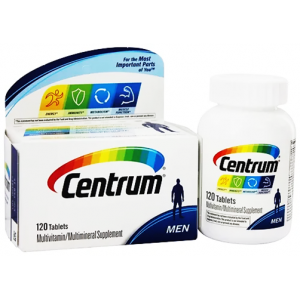 Centrum Men Multivitamin / Multimineral Supplement Tablet + Vitamin D3 120 tablets