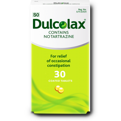 Dulcolax 5 mg ( Biscodyl ) 30 coated tablets