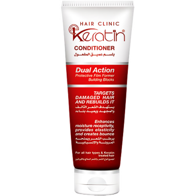 E - KERATIN HAIR CLINIC DUAL ACTION CONDITIONER 230 ML