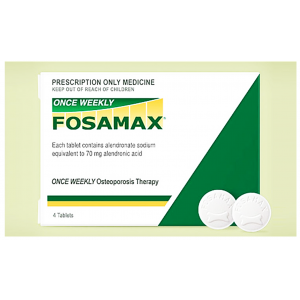 FOSAMAX Once Weekly 70 mg ( Alendronate ) 2 tablets