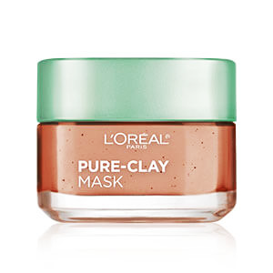 LOREAL PURE - CLAY Exfoliate & Refining Face Mask ( 3 Pure Clays and Red Algae ) 48 gm