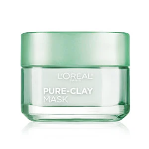 LOREAL PURE - CLAY Purify & Mattify Face Mask ( 3 Pure Clays and Eucalyptus ) 48 gm