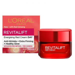 LOREAL REVITALIFT RED CREAM ANTI-WRINKLE EXTRA-FIRMING HEALTHY GLOW 50 mL