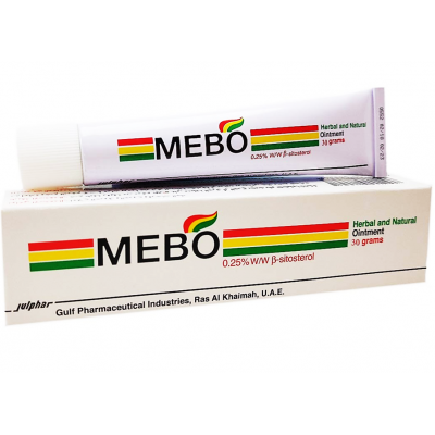 Mebo 0.25 % Herbal & Natural Ointment ( Beta - Sitosterol ) 15 gm