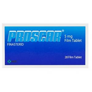 Proscar 5 mg ( Finasteride ) 28 film-coated Tablets