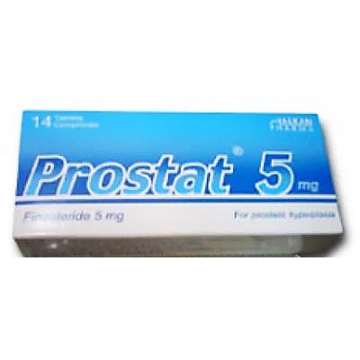 Prostat 5 mg ( Finasteride ) 14 flim-coated tablets