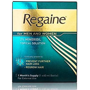 Regaine 2 % Topical Solution For Men & Women ( Minoxidil ) 60 mL