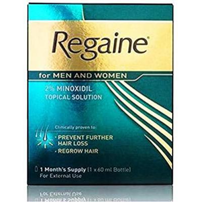 Regaine 2 % Topical Solution For Men & Women ( Minoxidil ) 60 mL