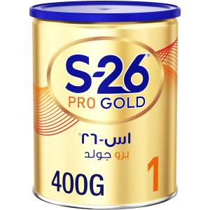 S - 26 Pro Gold Stage 1 Wyeth Nutrition 0 - 6 Months Premium Starter Infant Formula 400 g