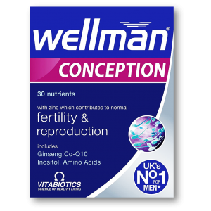 Wellman Conception Fertility & Reproduction Ginseng + Co-Q 10 + Inositol + Amino Acids 30 tablets