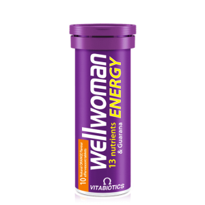 Wellwoman Energy 13 Nutrients 10 Effervescent tablets Orange Flavor