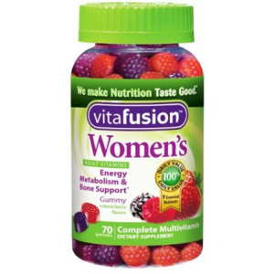 Women's Multivitamin Energy Metabolism & Bone Support Vitafusion 70 gummies