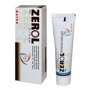 Zerol Cream ( Silicon Fluid + Dimethicone + Hydrophilic Onion Extract + Emu Oil + Coccoa Butter + Bees Wax + Almond Oil ) 40 gm