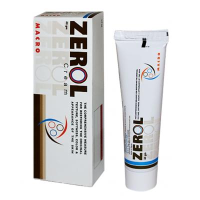 Zerol Cream ( Silicon Fluid + Dimethicone + Hydrophilic Onion Extract + Emu Oil + Coccoa Butter + Bees Wax + Almond Oil ) 40 gm