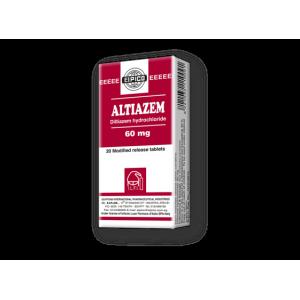 Altiazem 60 mg ( Diltiazem hydrochloride ) 40 modified-release MR tablets