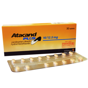 ATACAND ® PLUS 16 / 12.5 mg ( Candesartan cilexetil / Hydrochlorothiazide ) 14 tablets