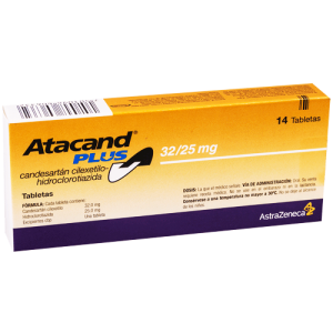 ATACAND ® PLUS 32 / 25 mg ( Candesartan cilexetil / Hydrochlorothiazide ) 14 tablets