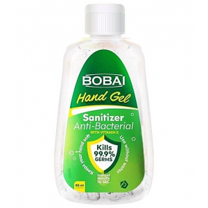 Bobai Hand gel Sanitizer 70% Alcohol Anti-Bacterial With Vitamin E 80 mL