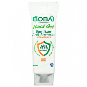 Bobai Hand gel Sanitizer 70% Alcohol Anti-Bacterial With Vitamin E 60 mL