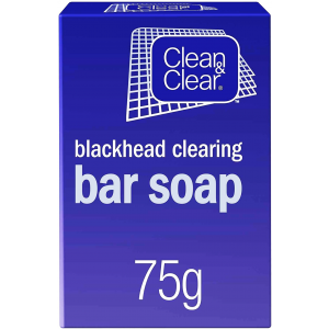 CLEAN & CLEAR ® Blackhead Clearing Bar Soap 75 Gm
