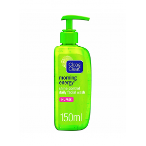 CLEAN & CLEAR ® MORNING ENERGY ® Shine Control Daily Facial Wash 150 mL