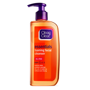CLEAN & CLEAR ® ESSENTIALS Foaming Facial Cleanser To Remove Dirt , Oil & Make Up 200 mL
