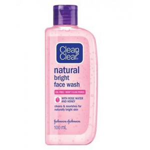 CLEAN & CLEAR ® Natural Bright Daily Wash For All Skin Types 100 mL