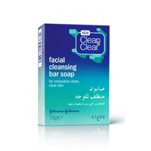 CLEAN & CLEAR ® Daily Facial Cleansing Bar Soap 75 Gm