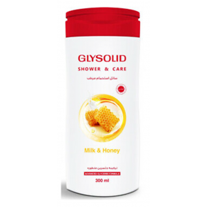 Glysolid Shower Gel Milk & Honey 300 ml