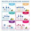 Mustela Skin Freshener Freshen Skin and Style Hair with Natural Avocado Perseose 200 mL