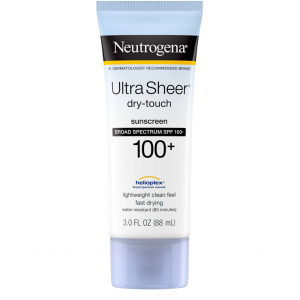 Neutrogena ® Ultra Sheer ® Dry - Touch Sunscreen Broad Spectrum SPF 100+ 88 mL