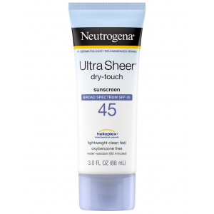 Neutrogena ® Ultra Sheer ® Dry - Touch Sunscreen Broad Spectrum SPF 45+ 88 mL