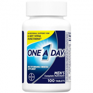 ONE A DAY ® Men's Multivitamin for Men 100 tablets