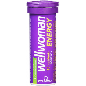 Wellwoman Energy 13 Nutrients 10 Effervescent tablets Lime Flavor