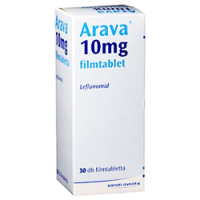 Avara 10 mg ( Leflunomide ) 30 film-coated tablets