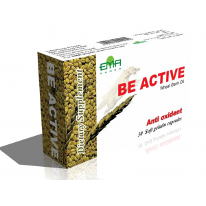 Be Active 330 mg ( Wheat Germ Oil ) 30 soft gelatin capsules