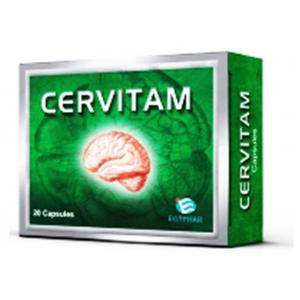 Cervitam ( Piracetam 400 mg + Vincamine 20 mg ) 20 capsules